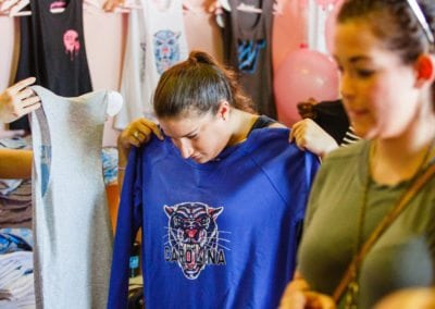 Girl Tribe Pop up with Girl Tribe Co apparel
